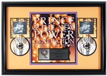 "Prince & The New Power Generation ""Diamonds and Pearls"" Original RIAA Multi-Platinum Cassette and C.D. Award Presented to Frank DiLeo"