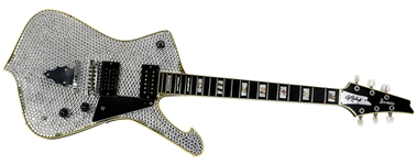 KISS Paul Stanley Stage Used 1979 Ibanez PS10 Custom Rhinestone Guitar by Steve Carr for the 1996 Reunion Tour