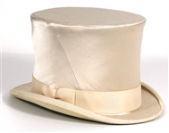 Spice Girl Melanie C Stage Worn Cream Top Hat