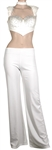 Spice Girl Mel B Angel TV Worn Diamante Top and White Trousers