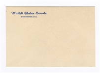 John F. Kennedy Original United States Senate Envelope