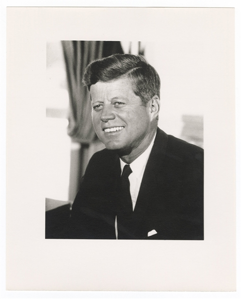 John F. Kennedy White House Photograph