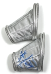 "Ace Frehley Signed KISS ""Love Gun Set #3"" Custom Stage Space Armbands also Signed by Maria Contessa"
