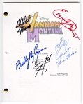 """Hannah Montana"" Original Script Signed by Miley Cyrus and the Cast"