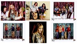 """Hannah Montana"" Miley Cyrus and Cast Signed Photograph Archive"