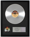 "KISS ""Love Gun"" Original RIAA Multi-Platinum Record Album Award Presented to Maria Contessa"