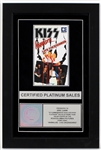 "KISS ""Animalize - Live Uncensored"" Original RIAA Platinum Home Video Award Presented to Eric Carr"