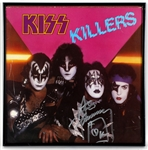 "Ace Frehley Signed ""KISS Killers"" Album Cover"