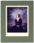 Princess Diana of Wales Signed Official Portrait