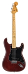 Jimmy Page Stage Played Burgundy Fender Stratocaster Guitar