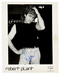 Robert Plant Signed Photograph