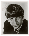 Ringo Starr Signed Beatles Promotional Photograph Beckett LOA Caiazzo Authenticated