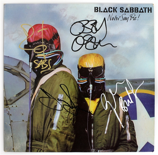 "Black Sabbath Signed ""Never Say Die!"" Album"