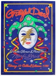 "The Grateful Dead Original ""Mardi Gras"" Concert Poster"