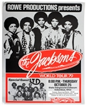 The Jacksons World Tour 79 Original Concert Poster