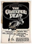The Grateful Dead Original 1977 Concert Poster