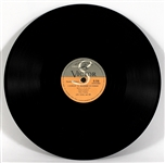 "Elvis Presley ""Mystery Train"" Extremely Rare Japanese 78 RPM Record"