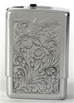 John Bonham Owned & Used Metallic Silver Cigarette Case