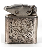 Jimi Hendrix Owned and Used Silver Lighter