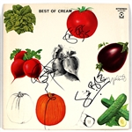 "Cream Signed ""Best of Cream"" Album Beckett LOA"
