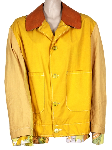 Billie Eilish Photo Shoot Worn Jetpack hom(m)e Yellow Jacket