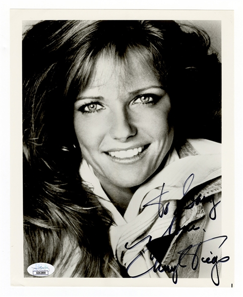 Cheryl Tiegs Signed and Inscribed Photograph JSA Authentication