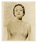 Dorothy Lamour Signed Photograph JSA Authentication