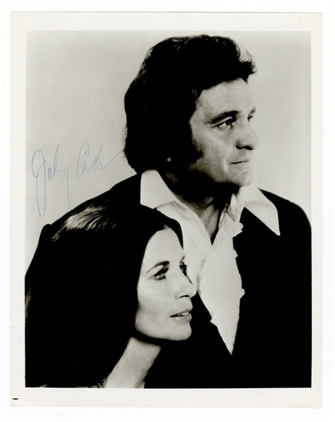 Johnny Cash Signed Photograph JSA LOA