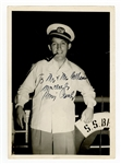 Bing Crosby Signed and Inscribed Photograph JSA LOA