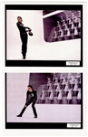 "Michael Jackson Personally Owned  ""Scream"" Music Video Original Jonathan Exley Stamped Photographs"