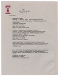 "Tupac Shakur Original ""All Eyez On Me Book 1 & 2"" Death Row Records Working Press Release"