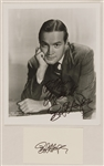 Bob Hope Signed & Inscribed Photograph and Signed Card