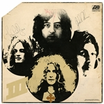 "Led Zeppelin Fully Signed ""Led Zeppelin III"" Album Tracks LOA"