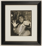 Cassius Clay (Muhammad Ali) Vintage Signed Photograph