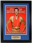 Michael Phelps Signed Large Sports Illustrated Cover Photograph JSA COA