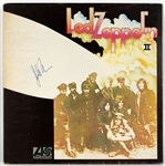 "John Bonham Signed ""Led Zeppelin II"" Album Beckett LOA"