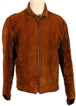 Steve McQueen Owned & Worn Nudies Custom Brown Suede Motorcycle Jacket