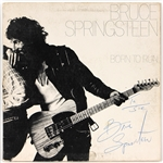 "Bruce Springsteen ""Born to Run"" Late 1970s Vintage Signed & Inscribed Album"