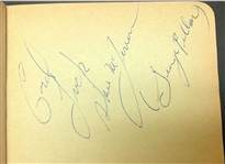 Steve McQueen & The Great St. Louis Bank Robbery Autograph Lot JSA LOA