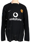 Cristiano Ronaldo Game Worn First Year 2003-2004 Manchester United Vodafone Jersey
