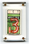 "1932 World Series Game 3 Ticket (Babe Ruth ""Called Shot"" Game)"