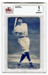1925 #100 Babe Ruth Exhibit Card BVG 1