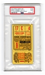 1923 World Series GM 1 Giants vs Yankees #1/100 Ticket Stub PSA 2