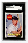 1969 Topps #500 Mickey Mantle EX 5 SGC