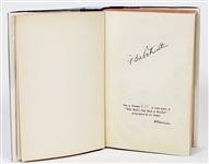 "Babe Ruth Signed ""Babe Ruth Own Book of Baseball"" Book PSA LOA"