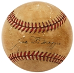 "Joe DiMaggio ""Rookie"" Single Signed Official American League Baseball JSA LOA"