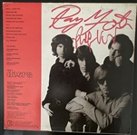 The Doors Robbie Krieger and Ray Manzarek Signed Greatest Hits Album Cover
