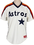 Nolan Ryan Worn 1988 Houston Astros Home Knit Jersey