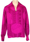 John Lennon Owned and Worn Psychedelic Fuchsia Tunic