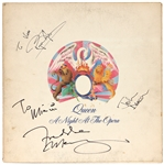 "Queen ""A Night At the Opera"" Band Signed Album JSA"